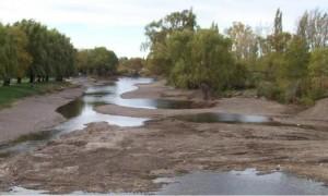 Por darle energía a Capital Federal se secaron los ríos de Neuquén