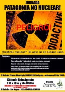 Charla sobre energía nuclear en El Bolsón