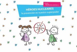 «Insólita y sin ética» campaña infantil sobre héroes nucleares