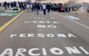Critica situación en Chubut